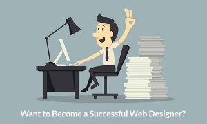 become successful web designer