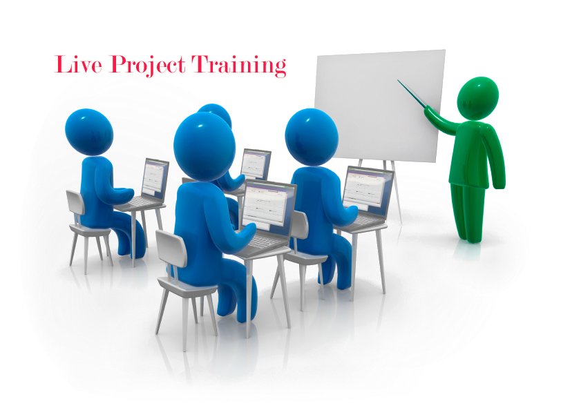 Get Job With Live Project Training