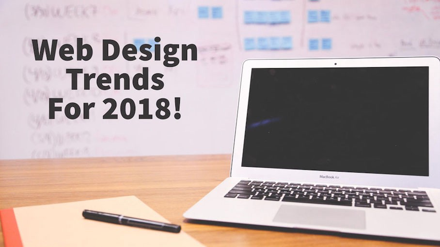 Web Designing Trands 2018