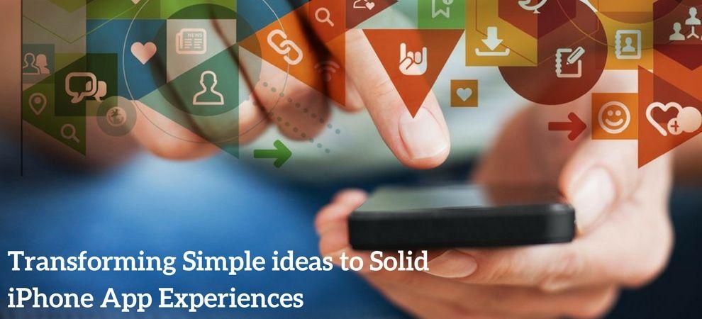 app development ideas for iphone